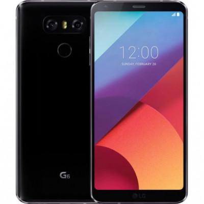 LG G6 64GB Black (LGH870DS.ACISBK)