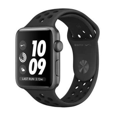 Apple Watch Nike+ 42mm Space Gray Aluminum Case with Anthracite/Black Nike Sport Band (MQ182)