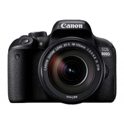 Зеркальный фотоаппарат Canon EOS 800D kit (18-135mm) IS STM