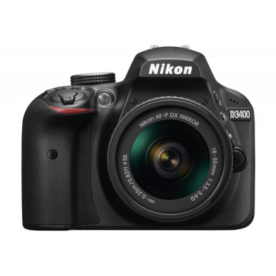 Nikon D3400 kit (18-55mm VR) Black