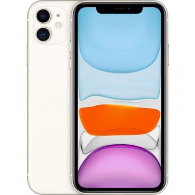 Apple iPhone 11 64GB Dual Sim White (MWN12)