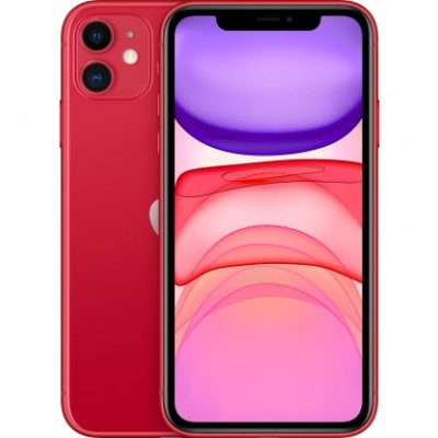 Apple iPhone 11 256GB Dual Sim Product Red (MWNH2)