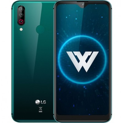 LG W30 3/32GB Aurora Green