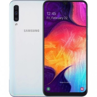Samsung Galaxy A50 2019 SM-A505F 4/64GB White (SM-A505FZWU) UA