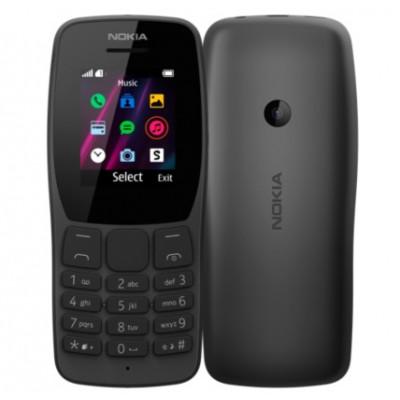 Nokia 110 Dual Sim 2019 Black (16NKLB01A07) UA