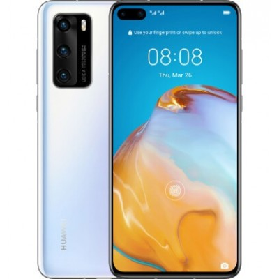 HUAWEI P40 8/128GB Ice White (51095EJB) EU
