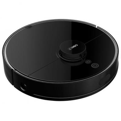 Робот-пылесос с влажной уборкой 360 Robot Vacuum Cleaner S7 Pro Black