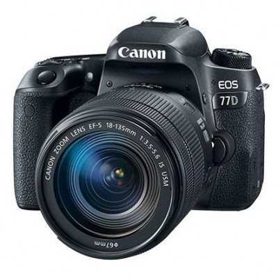 Canon EOS 77D kit (18-135mm) nano USM