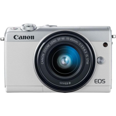 Canon EOS M100 kit (15-45mm) IS STM White