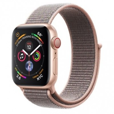 Apple Watch Series 4 GPS + LTE 40mm Gold Alum. w. Pink Sand Sport l. Gold Alum. (MTUK2, MTVH2)